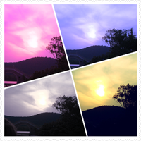 Sky collage by Laura-in-china