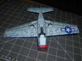 F6F hellcat paper model 2 by falcon01