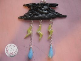 Thunder Cloud Necklace by latent-ookami