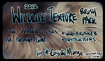 Wildlife Texture Brushes by CoyoteMange