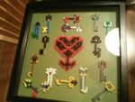 Keyblades and Heartless symbol gift by cmsully