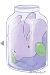 Jar of Happy Squish by Alithographica