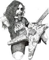 Dimebag Darrell- Power by Kelly-ART