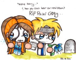 RIP Paul Gray by Violent-Rainbow