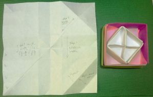 One-sheet origami octants by wombat1138