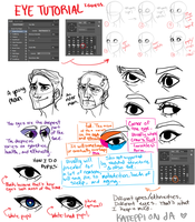 how i draw eyes in photoshop by kateppi