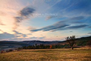 From a Distance by iustyn