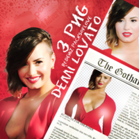 PNG PACK (55) Demi Lovato by DenizBas