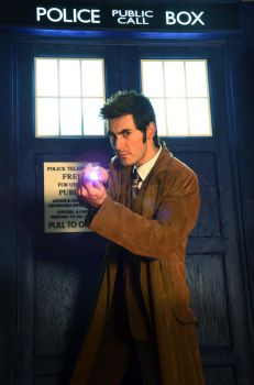 The Doctor and the TARDIS 2011 by thejediagent