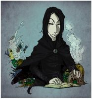 Severus Snape by lovelika