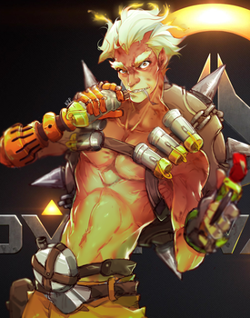 Overwatch: Junkrat by Neire-X