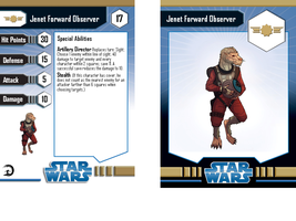 Star Wars Jenet Forward Observer card by Aliens-of-Star-Wars