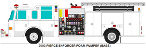 Pierce Enforcer foam pumper base by MisterPSYCHOPATH3001