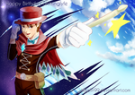 Ace Attorney - Magician Apollo Justice by Kalafin99