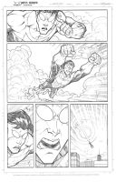 Invincible practice page by JoeyVazquez