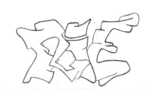 RIE Graffiti Draft by shimon-graffiti