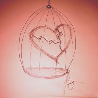 Heart in a Cage by LW-Lucy