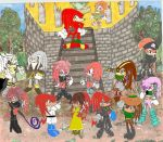 clan echidna family and evil by Natchaotix