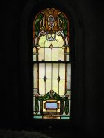 stained glass window by resistancetoys