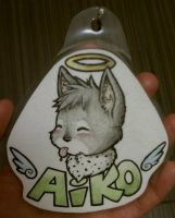 :: Aiko Oller Badge :: by LaughingSquid