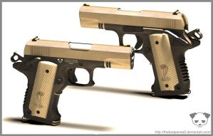 Modified Colt 1911 2 by TheBadPanda2