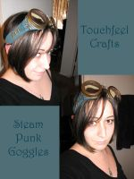 Steam Punk Goggles by TouchFeel