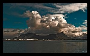 clouded mountain... by BigShrimp-Photo