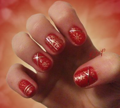 Nail Art Design: Advent by Kebuyo