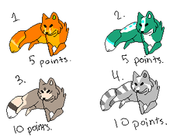 Wolf point adopts. by bronzefish678