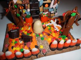 Halloween 2012 Candy House n2 by InkTheEchidna