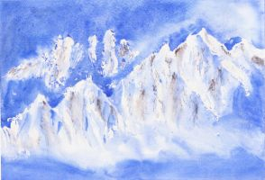 Mountains by Yoshie8
