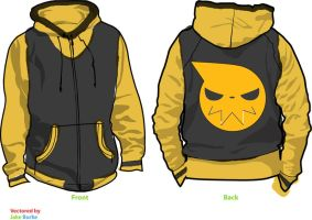 Soul Eater Fleece Cosplay Hoodie by Weeaboo-Warehouse