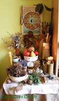 Autumnfeast altar 2015 by LoveLiveLilith