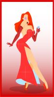 Jessica Rabbit by deep-design