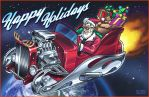 Hot Rod Sleighride by D-MAC