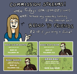 Commission Streams by mernolan