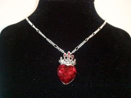 Royal Heart Necklace by MysticalMayhemJewel