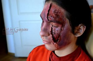 laceration by Gaspina