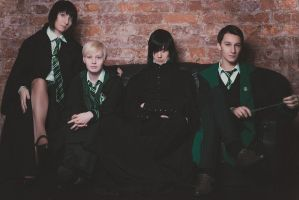 Slytherins 02 by RaulFaux