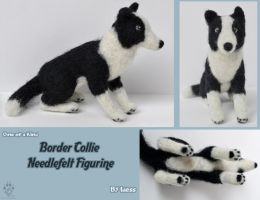 Border Collie Needlefelt by Idess