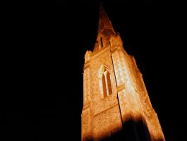Church Tower III by angelwillz