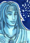ACEO G1 Aquarius by nickyflamingo