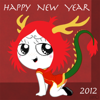 Ruby Gloom Chinese New Year 2012 by empty-10