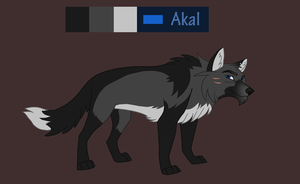 Akal Reference sheet by Sylean