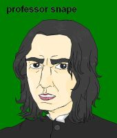 snape and his eyes by seannethecloud