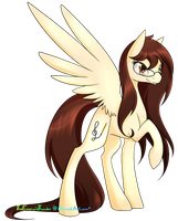 Art Trade with AnimeAngel120 by TheEmeraldThunder
