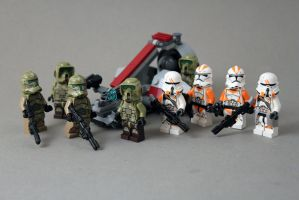 BAMF Clone troopers by exxtrooper