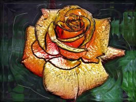 Glass Rose by fission1
