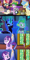 Spike gets all the mares in Season 5 finale by Titanium-dats-me