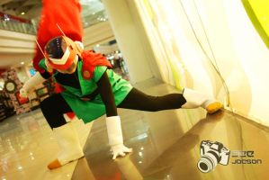 The Saiyaman Cosplay by jeffbedash325